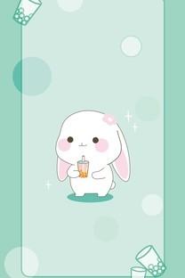可爱小兔几